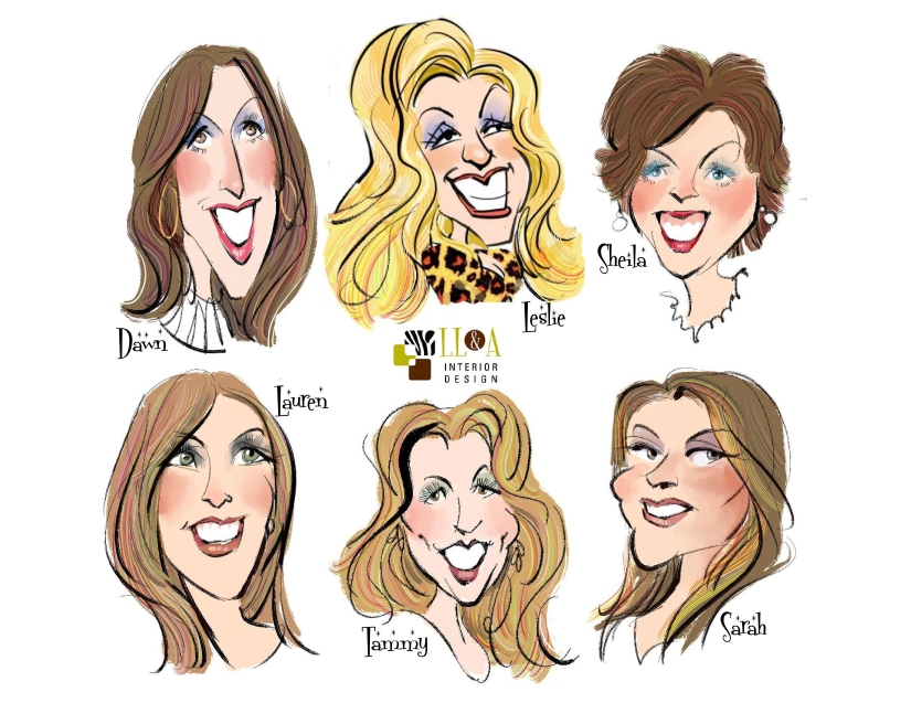 LL&A Caricatures