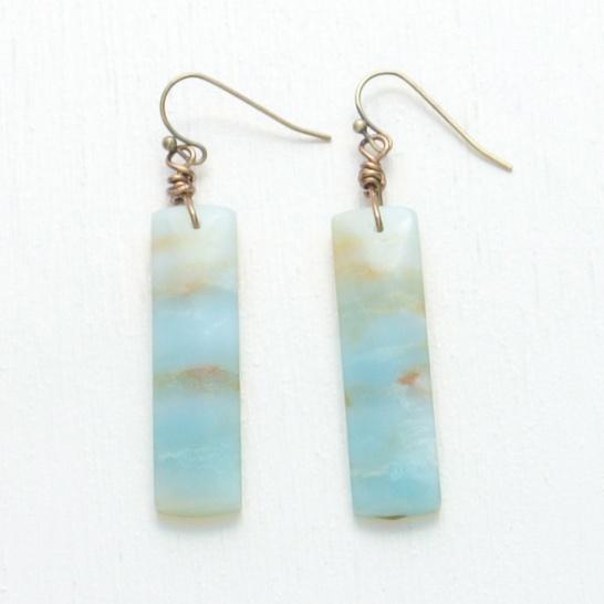 canoe earrings