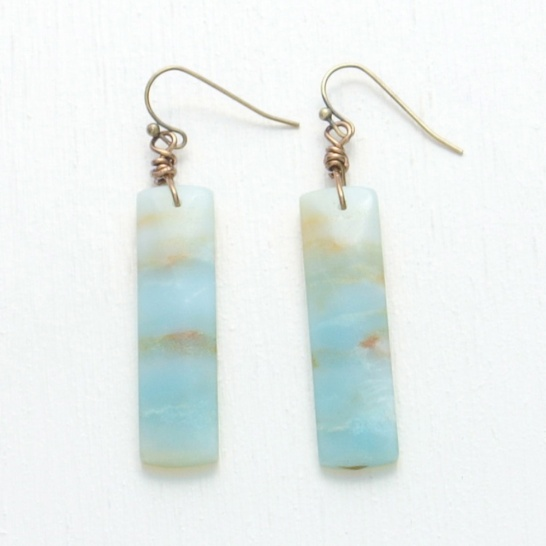 canoe earrings