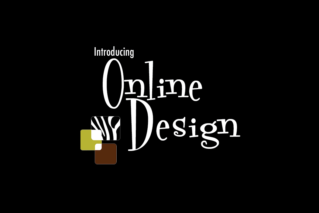 Online Design graphic